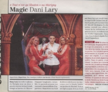 revue de presse dani lary illusion magic magicien figaro